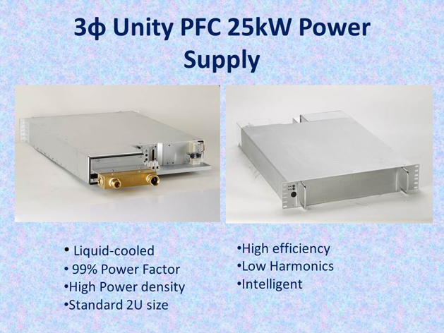 liquid cooled power supply